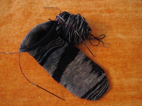 Tempted Paris Sock #2
