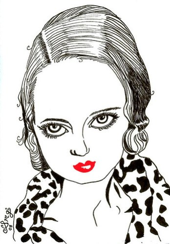 Bette Davis - Ruby Red Lips