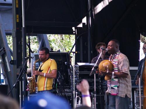 Occidental Brothers Dance Band International @ Pitchfork 2008, Chicago 07/20
