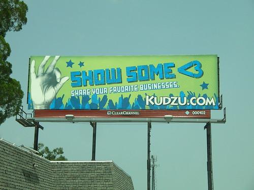 Kudzu billboard in Winter Park