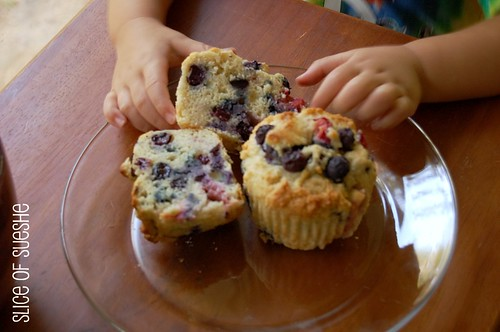 Dos Berry Muffins