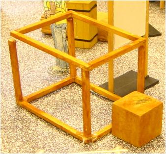 Wooden Frame Model