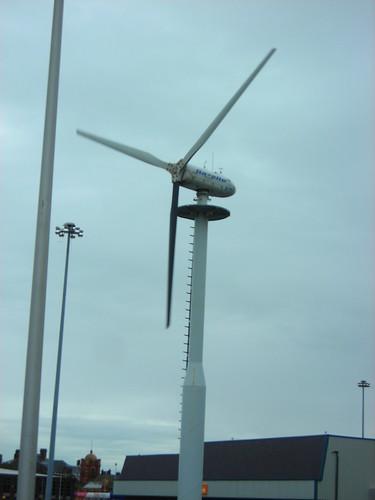 Tesco wind power