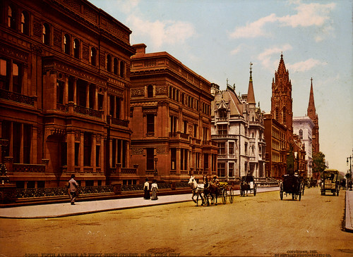 Fifth Avenue at Fifty-First Street, New York City, 1900