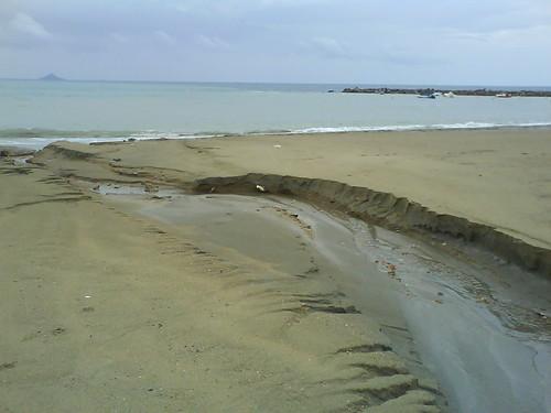 Se ha roto la playa