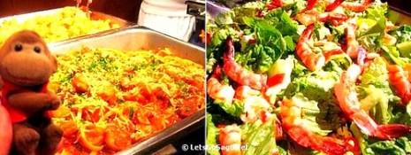 Spicy Jambalaya Pasta & Shrimp Salad