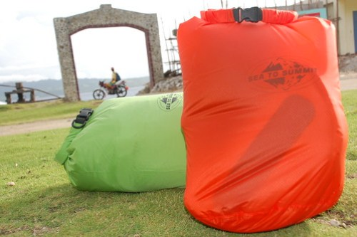 Sea to Summit Ultra-Sil Dry Sacks in Sabtang Island