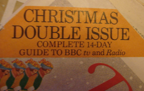 Christmas Radio Times 1979