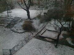 Schnee in Winterhude