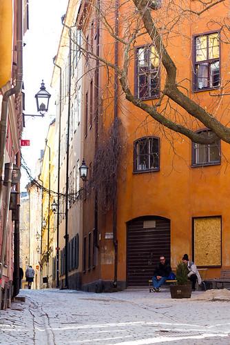 Brända Tomten, Gamla Stan, Stockholm