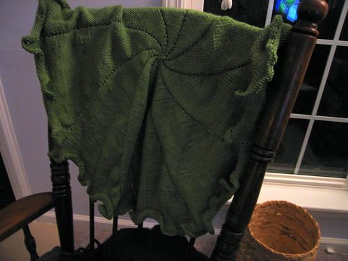 pinwheel blanket FO
