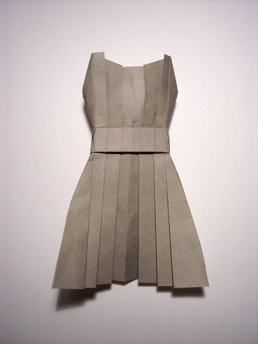 Origami Dress by you.