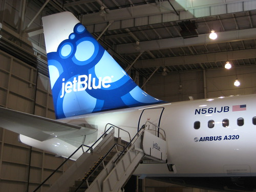 JetBlue livery reveal in Orlando
