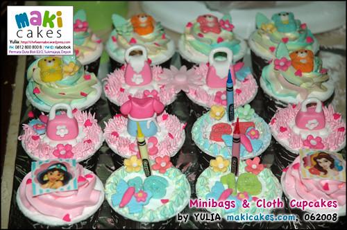 Minibag Cupcake