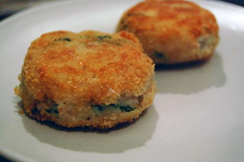 Tuna and Potato Cakes