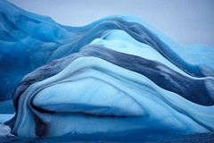 Fwd: Amazing Striped Icebergs by mickhart1967