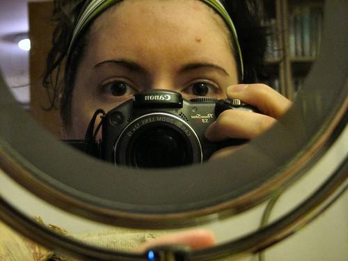 Self Portrait Thursday: Plucked eyebrows