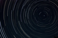 Polaris Star Trails - ~3hr exposure
