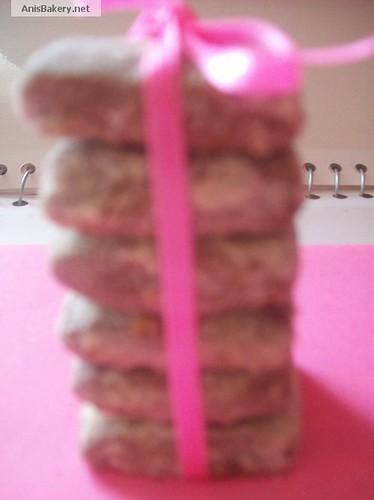 Chocolate Oat Crisp Cookies