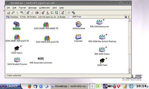 advanced desktop mode with first class client
