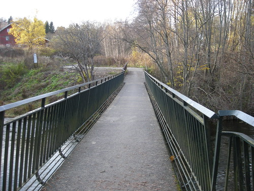 bridge with weird rails
