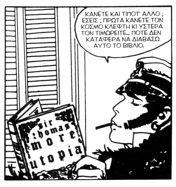 corto maltese in utopia