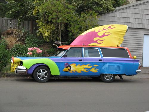Crazy Portland Car