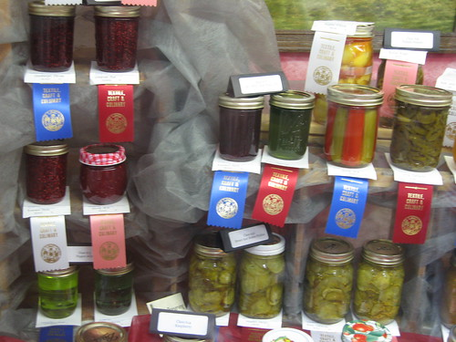 SO MANY CATEGORIES of jam and pickles.  Was stunned.