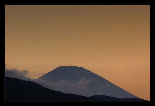 Mt. Fuji Sunset