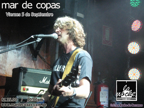 Afiche Mar de Copas Septiembre