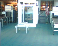 Portland Airport TSA Benches