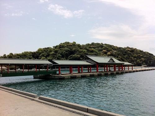 大山祇神社の近くの船着場