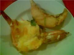 fish and prawn