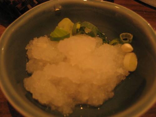 蘿蔔泥/sukiyaki-radish