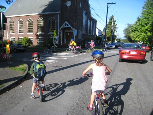 Back to School (on Bikes)