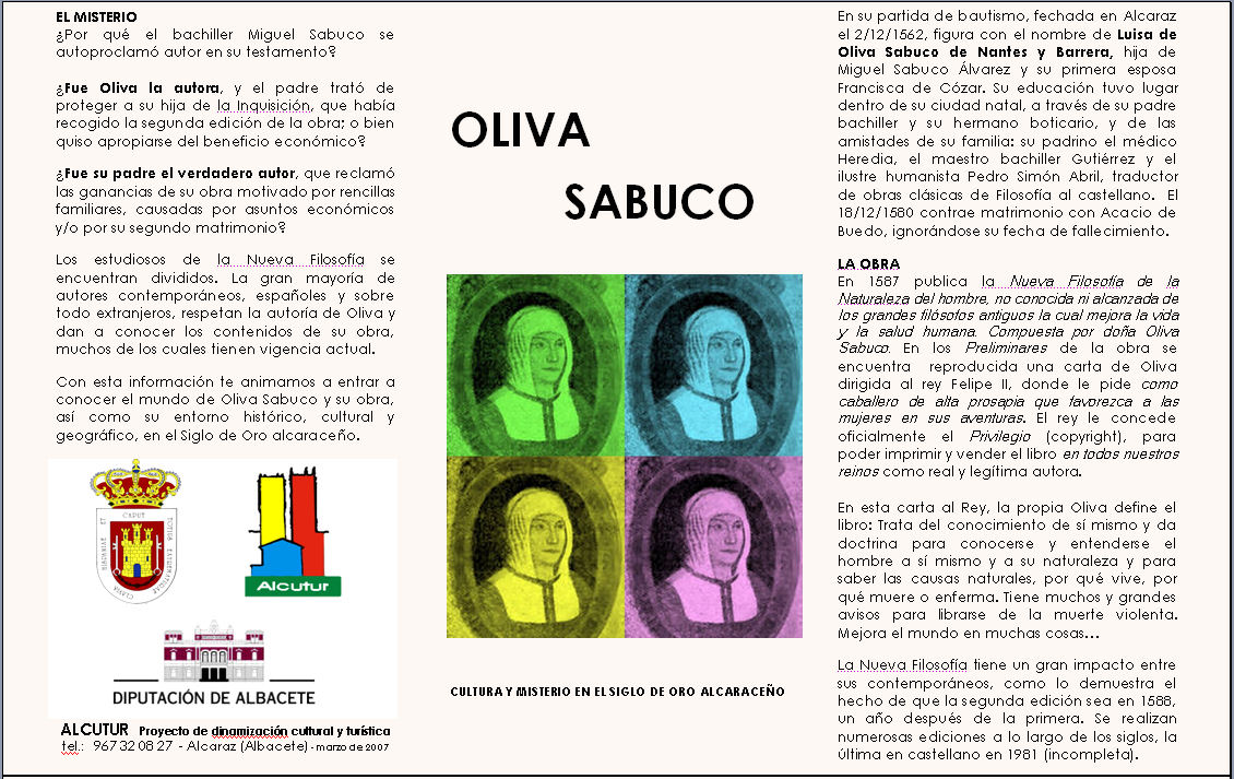 Triptico Oliva Sabuco