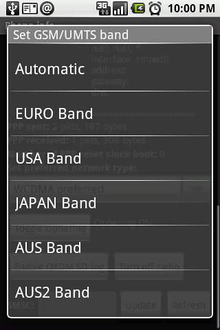 13. GSM-UMTS band