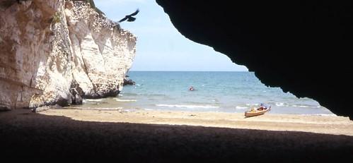 San Lorenzo (spiaggia dalla grotta)