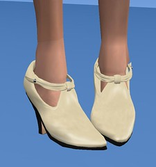 ETD T-Strap Ankle Booties