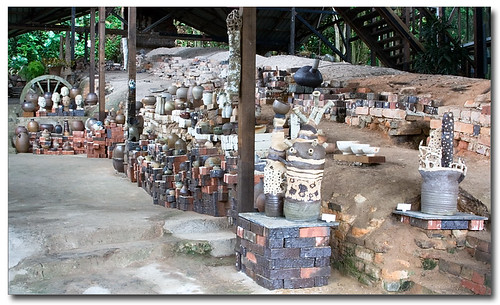 Brick and Clay Display 1 - LS