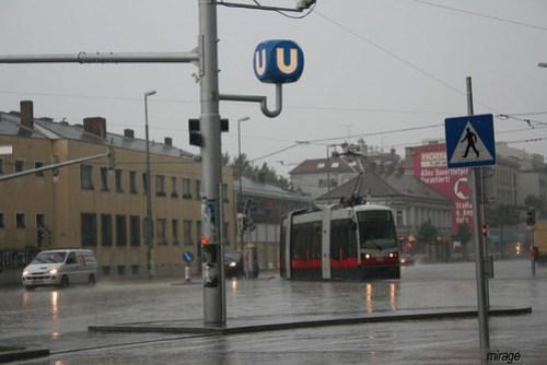 rain tram