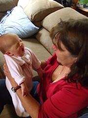 Grandma Faye and Flora