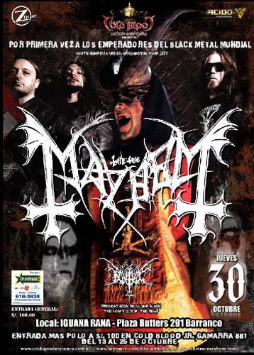 Mayhem Poster - Lima