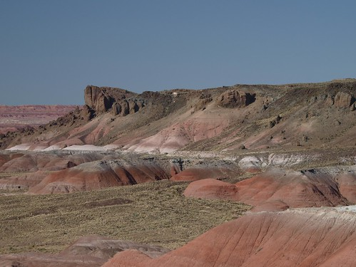 Badlands in Painted Desert