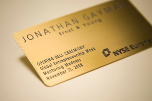 NYSE Visitor Badge