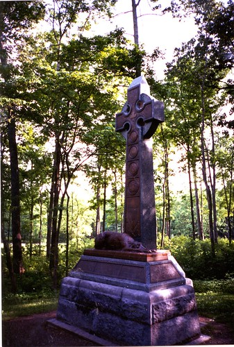 Irish Brigade Monument at Gettysburg