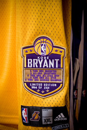 Kobe Bryant - Limited Edition Jersey