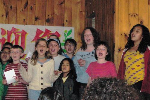 closing program singing