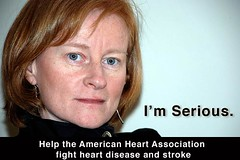 Support the American Heart Association. I'm Se...
