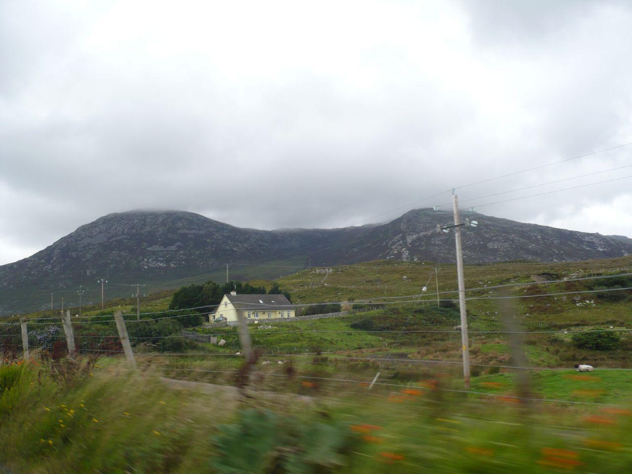 paisaje de Connemara